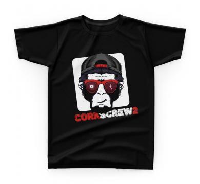 GplayTV Corkscrew2 - Monkey Men's T-shirt