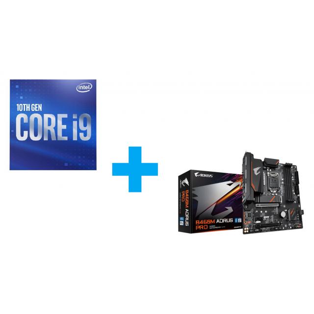 Intel Core i9-10900 + GIGABYTE B460M AORUS PRO