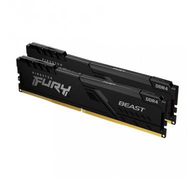Kingston FURY Beast Black 32GB (2x16GB) 2666MHz