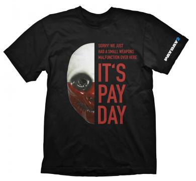 Payday 2 T-Shirt Wolf Mask