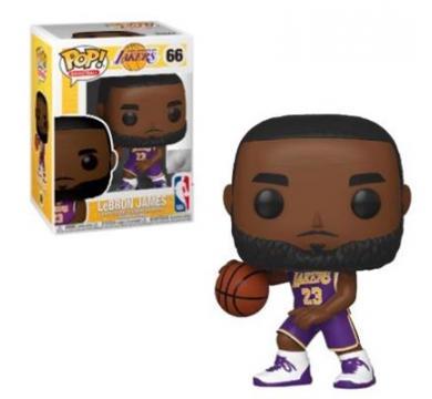 Funko POP! Basketball NBA: Lakers - Lebron James #66
