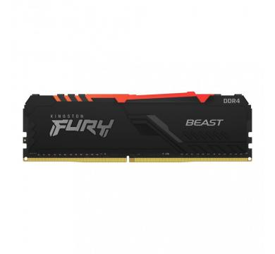 Kingston FURY Beast Black RGB 8GB 3600MHz