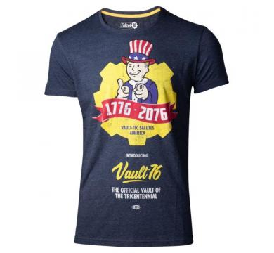 Fallout 76 - Vault 76 Poster Men's T-shirt
