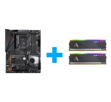 GIGABYTE X570 AORUS PRO + AORUS RGB 16GB (2x8GB) 3600MHz