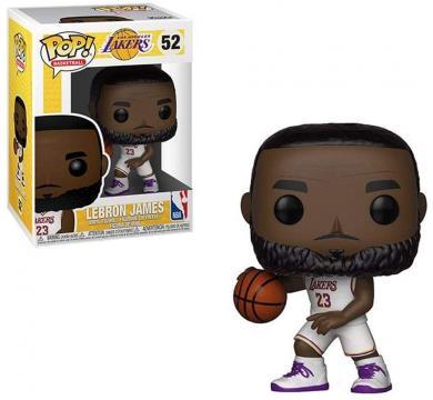 Funko POP! Basketball NBA: Lakers - Lebron James (White Uniform) #52