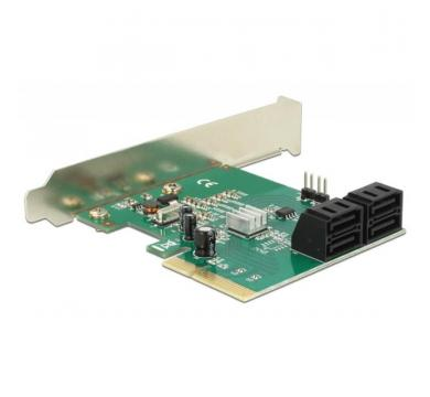 Delock SATA PCI Express Card - 4 ports