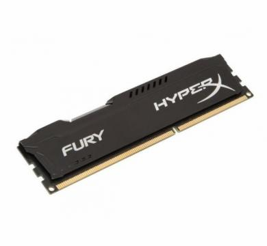 HyperX Fury Black 4GB 1600 MHz