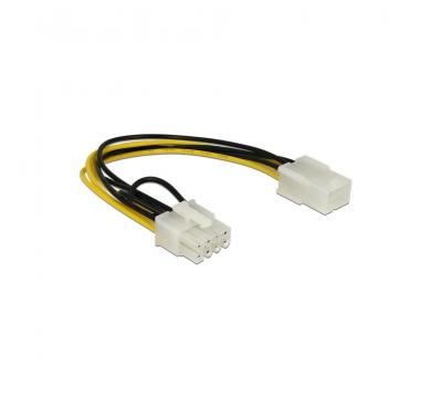 DeLock power cable 6-pin PCIe female to 8-pin PCIe male