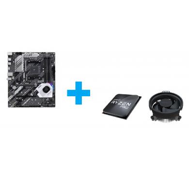ASUS Prime X570-P + AMD Ryzen 3 PRO 4350G