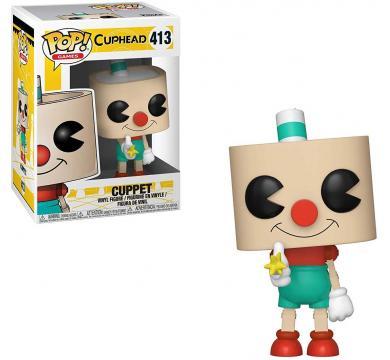 Funko POP! Games: Cuphead - Cuppet #413