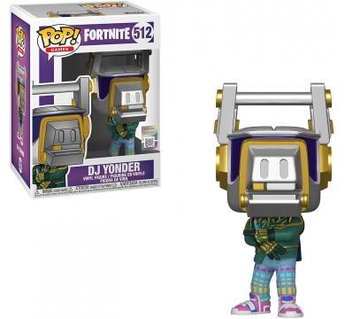 Funko POP! Games: Fortnite S3 - DJ Yonder #512