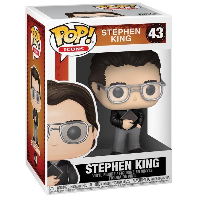 Funko POP! Icons: Stephen King - Stephen King #43
