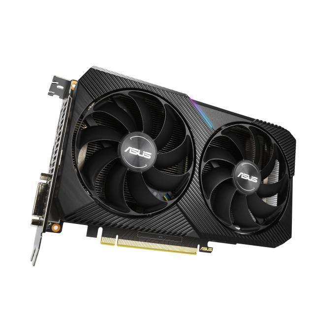 ASUS Dual GeForce GTX 1660 SUPER MINI OC 6GB