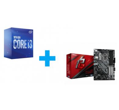 Intel Core i3-10300 + ASRock B460 Phantom Gaming 4