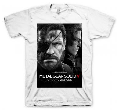 Metal Gear Solid 5 T-Shirt Ground Zeroes