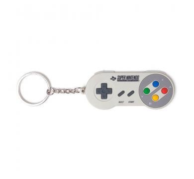 Super Nintendo - Controller Rubber Keychain