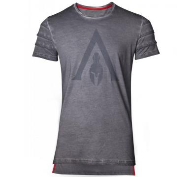 Assassin's Creed Odyssey - Logo Oil Dye Pintuck T-shirt