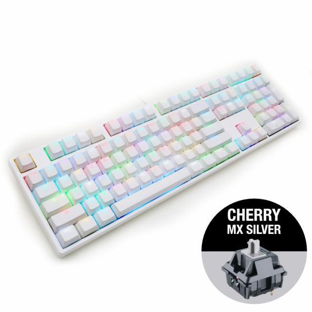 Ducky One White RGB