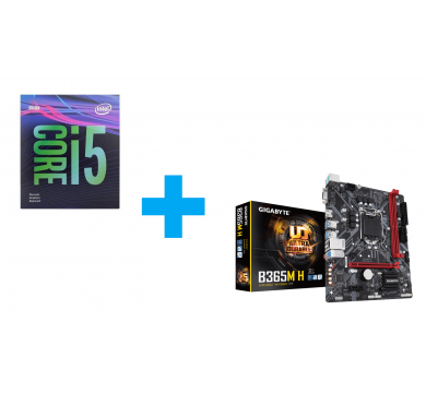 Intel Core i5-9400F + GIGABYTE B365M H