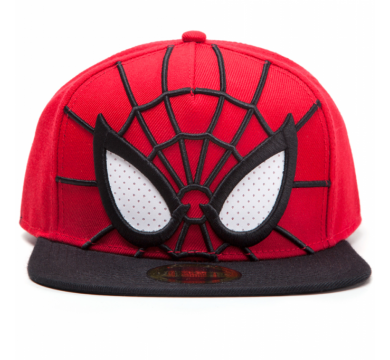 Spider-man - 3D Snapback with Mesh Eyes