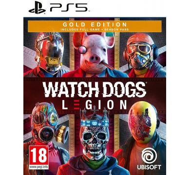 PS5 Watch Dogs: Legion Gold Edition + Watch Dogs: Legion Merch/Controller