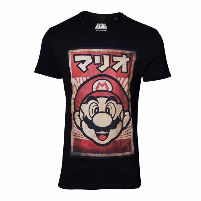 Nintendo - Propaganda Poster Inspired Mario T-shirt