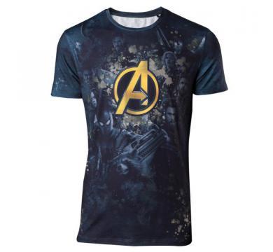 Avengers Infinity War - Team Sublimation Print Men's T-shirt