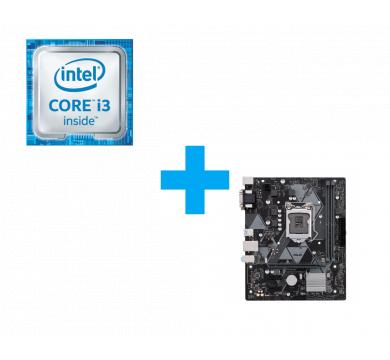 Intel Core i3-9100F Tray + ASUS PRIME H310M-K R2.0