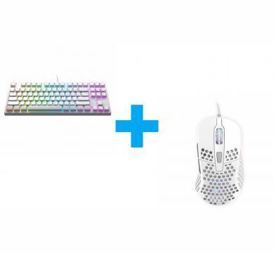 Xtrfy K4 TKL White RGB + M4 RGB White