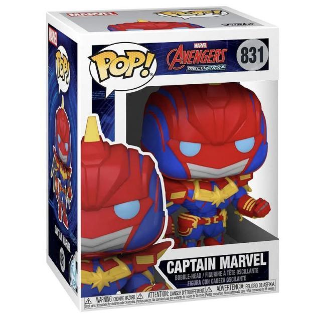 Funko POP! Marvel: Avengers MechStrike - Captain Marvel #831