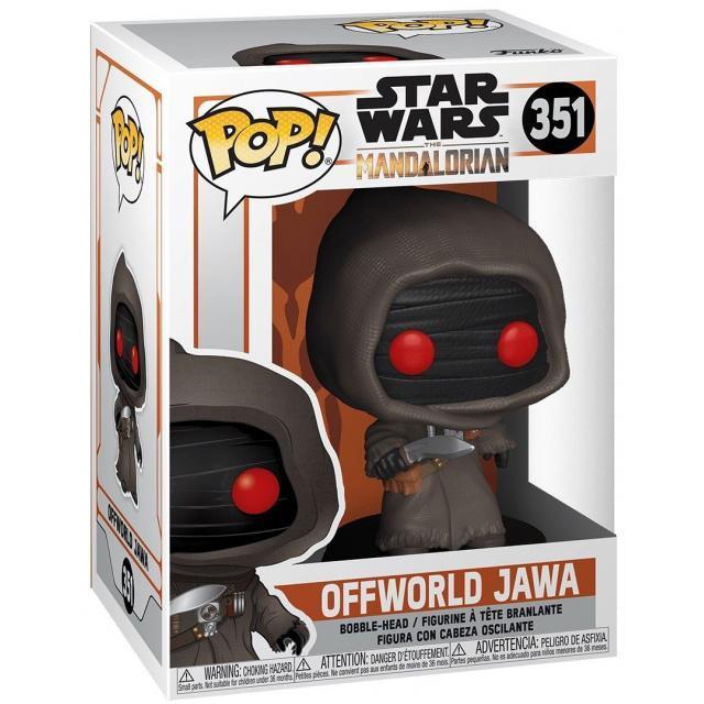 Funko POP! Star Wars: The Mandalorian - Offworld Jawa (MT) #351