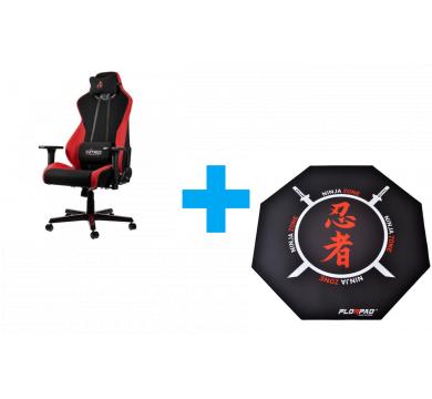 Florpad Ninja Zone + Nitro Concepts S300