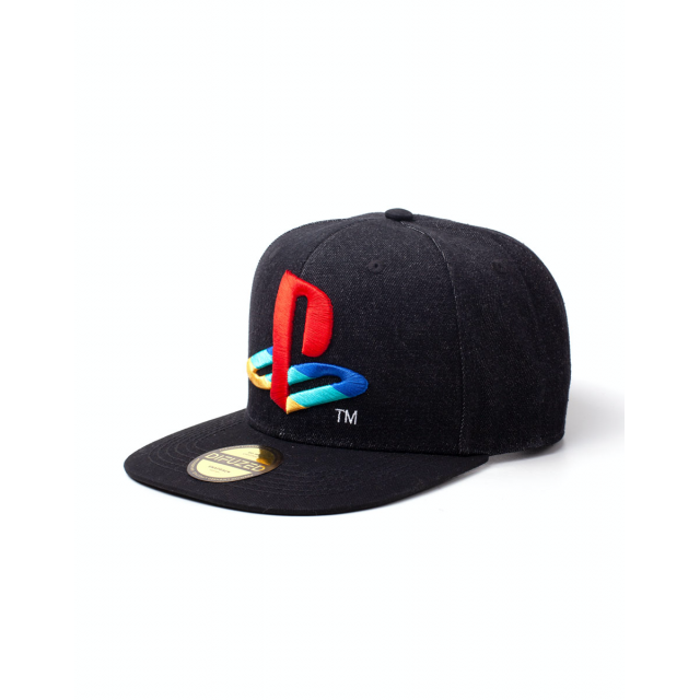 Playstation - Logo Denim Snapback Cap