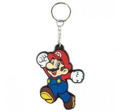 Nintendo - Mario Rubber Keychain