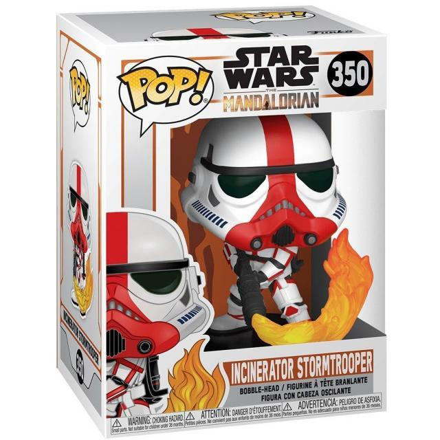 Funko POP! Star Wars: The Mandalorian - Incinerator Stormtrooper #350