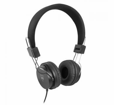 Ewent Foldable on-ear headphones