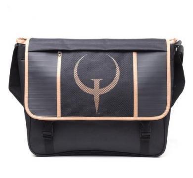 Quake - Messenger Bag Black