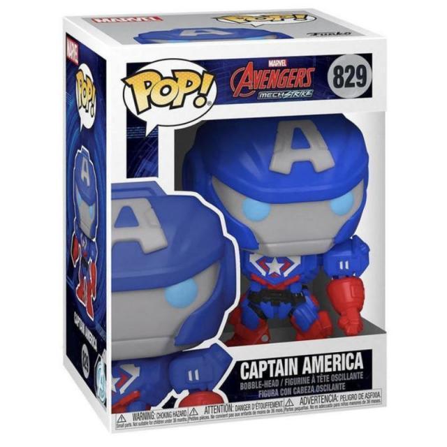 Funko POP! Marvel: Avengers MechStrike - Captain America #829