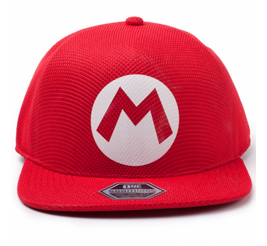 Nintendo – Super Mario Badge Seamless Cap