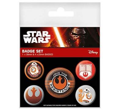 Pyramid International - Star Wars - Episode VII Resistance Pin Badge Pack