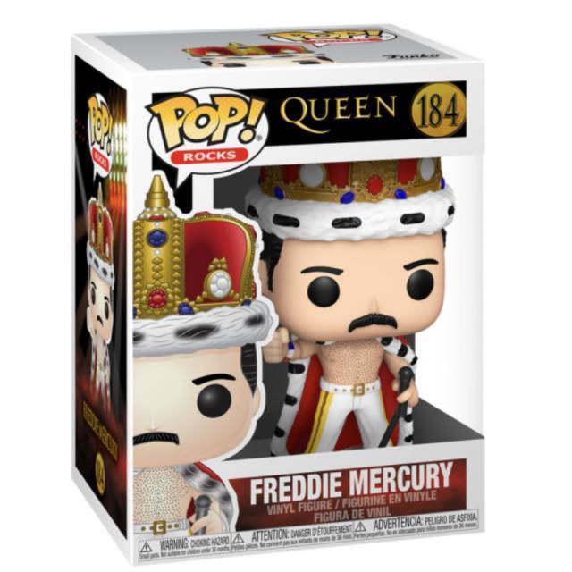 Funko POP! Rocks: Queen - Freddie Mercury King #184
