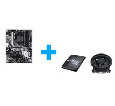 ASRock B550 Phantom Gaming 4 + AMD Ryzen 3 PRO 4350G