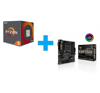 AMD Ryzen 5 3400G + ASUS TUF B450M-Plus Gaming