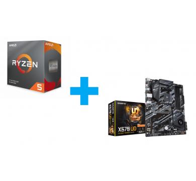 AMD Ryzen 5 3600 + GIGABYTE X570 UD