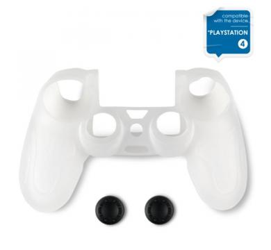Spartan Gear Silicon Skin Cover Transparent + Thumb Grips