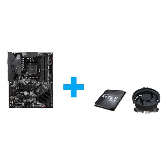 GIGABYTE B550 GAMING X + AMD Ryzen 3 PRO 4350G