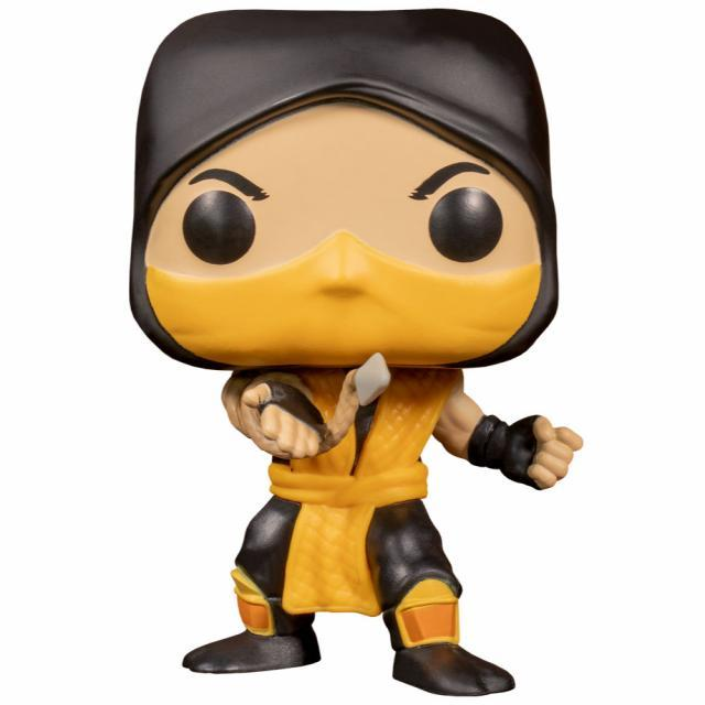 Funko POP! Games: Mortal Kombat - Scorpion #537