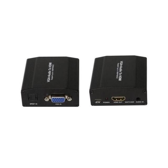 Estillo HDMI to VGA/Toslink/3.5mm jack Converter