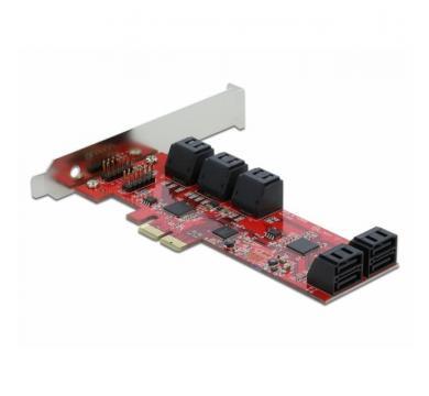 Delock SATA PCI Express Card - 10 ports