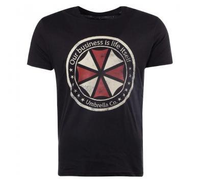 Resident Evil - Umbrella Logo Black T-Shirt
